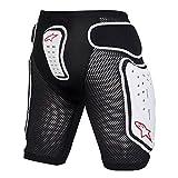 Alpinestars Protektoren MTB Bionic Shorts schwarz/weiß (Größe: S)