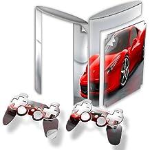 Virano - Pegatina para PlayStation 3 Slim, diseño de coches de colección varios modelos disponibles Voitures 10110 PS3 Superslim Skin