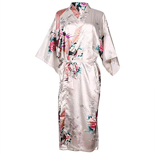 womens-night-gown-peacock-and-blossoms-kimono-satin-robe-long-style-nightwear-white-large