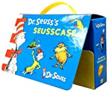 Dr Seuss's Seusscase Collection 10 Books Set (The cat in the hat, Green eggs and ham, Oh, the places you'll go!, Fox in socks, One fish, two fish, red fish, blue fish, There's a wocket in my pocket!, Dr. Seuss's ABC, The sneetches, The lorax, etc)