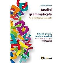 Analisi grammaticale (Italian Edition)