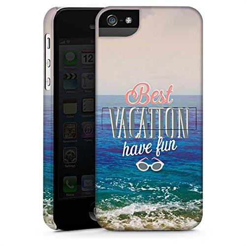 Apple iPhone X Silikon Hülle Case Schutzhülle Urlaub Meer Strand Premium Case StandUp