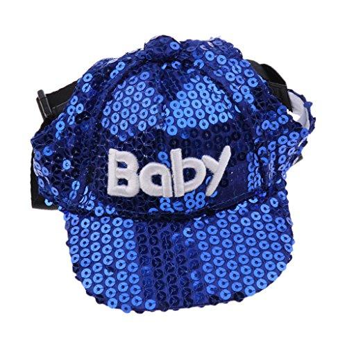 (Sharplace Haustier Hunde Katze Hund Hut Baseball Cap Mütze Kappe Hunde Sonnenhut mit Ohrlöchern - Style 3 - S)