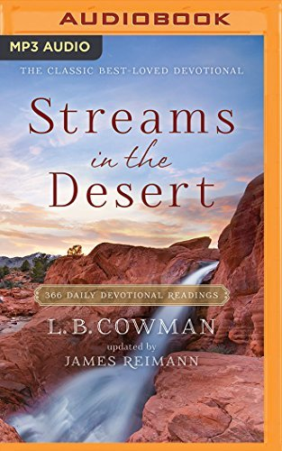 Streams in the Desert: 366 Daily Devotional Readings by Jim Reimann (2016-02-09)