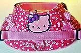 Hundegeschirr S M L XL XXL Brustgeschirr bestickt Pink Katze