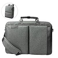 Kroser Laptop evrak çantası sırt çantası 15,6inç Cabrio sırt çantası su geçirmez Çok fonksiyonlu 2in 1bilgisayar sırt çantası sırt çantası okul için şehridir Laptop-çanta/Seyahat/iş/kadın/erkek-Charcoal Grey (SYK301)