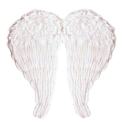 Kostüm Motto White Christmas - Widmann - Flügel aus modellierbaren Federn