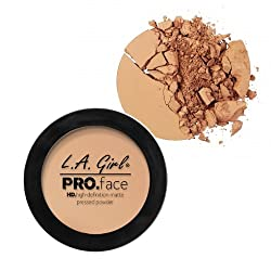 L A Girl HD Pro Face Pressed Powder, Soft Honey, 7g