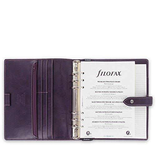 Get Filofax A5 Malden grey 025851, purple Reviews
