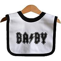 Ba by Bavoir Bébé Noir. AC DC Hommage pour Rock Coffret cadeau Baby 7e12fce456e