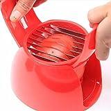 Cortador tomate mozzarella cebolla rapido y sencillo en un solo movimiento de OPEN BUY