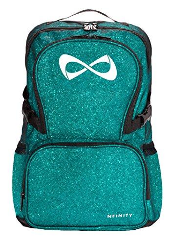 Nfinity Sparkle Rucksack, blaugrün (Cheers Logo)