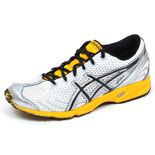 ds racer ASICS E5218 Sneaker Donna White/Black Gel DS Racer VII Tissue Shoe Woman [39.5]