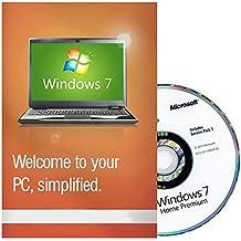 Microsoft Windows 7 Home Premium inkl SP1 64 Bit UK - Refurbished Full Version (PC DVD), 1 User - Win7 home Premium 64 Bit [DVD-ROM] Windows 7 [DVD-ROM]