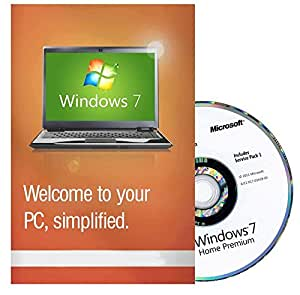 Microsoft Windows 7 Home Premium inkl SP1 64 Bit UK - Refurbished Full Version (PC DVD), 1 User - Win7 home Premium 64 Bit [DVD-ROM] Windows 7