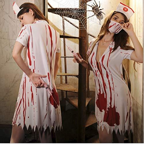Butterfly BB Halloween Kostüm Zombie verkleiden Sich Zombie Anzug Vampir blutigen Horror Krankenhaus Krankenschwester Cosplay Kostüm