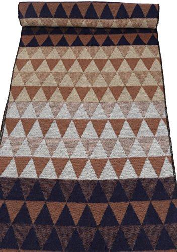 Sakkas IIvy long Mid Poids Patterned Multicolore Doux Pashmina Shawl / Scarf Marron