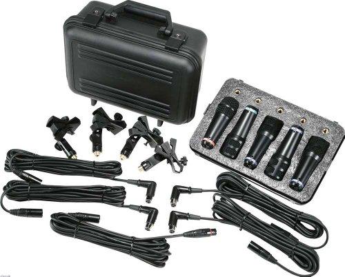 Peavey DMS 5 Drum Mikrofon Set (Mikrofon-schlagzeug-set)