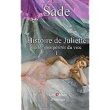 Histoire de Juliette: ou les prospérités du vice - illustrations d'origine 1797