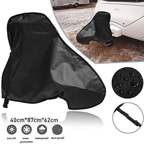 Gorgeousy Universal-Abdeckung für Anhängerkupplungen, wasserdicht, mit schwarzen Anhängerkupplungsabdeckungen, für Anhänger, Regen, Schnee, Staubschutz