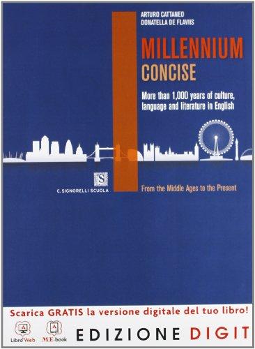 Millennium concise - Volume unico Edizione Digit + Exam Practice. Con Me book e Contenuti Digitali Integrativi online