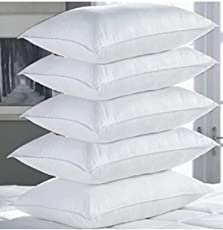 Stylite Vacum Pillow White Set of Five - 17x27 Inches