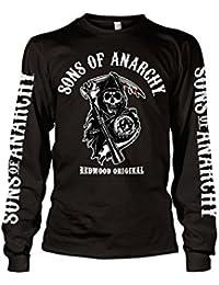 Officiellement Marchandises Sous Licence Sons Of Anarchy - Redwood Original Long Sleeve T-Shirt (Noir)