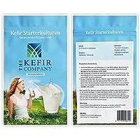 Starterkulturen für Kefir – Für die Zubereitung von mindestens 100 Liter Kefir