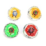 Hexingshan Metal Rapidity Toy Hand Spinner Tops 4D Launcher Grip Set for Kids Gift