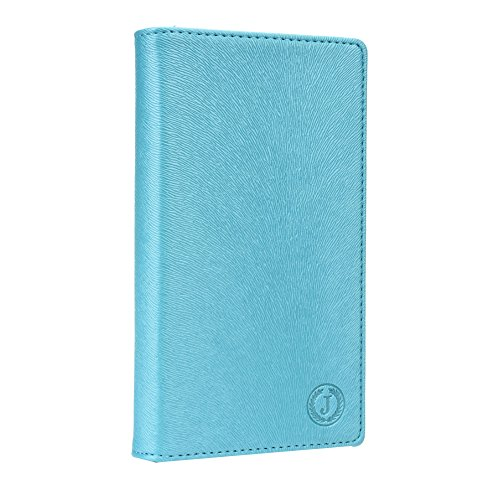 Jo Jo Cover Squirrel Series Leather Pouch Flip Case For Sony Xperia M dual with Dual SIM card support Light Blue  available at amazon for Rs.390