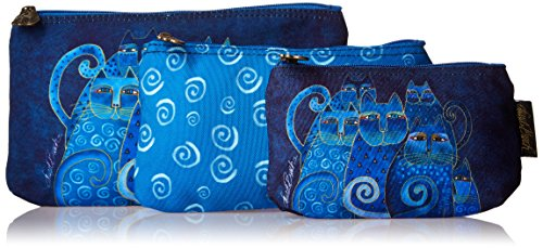laurel-multi-clip-catcheur-laurel-catcheur-trousse-a-maquillage-indigo-chats-lot-de-3