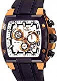 CASIO Edifice Gold Label EFX-520P-7AVDR - Reloj de caballero de cuarzo, correa de resina color...