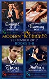 Modern Romance September 2017 Books 5 - 8 (Mills & Boon e-Book Collections) (One Night With Consequences)