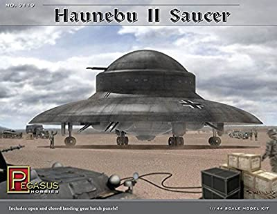 Haunebu II Saucer 1/144th Scale Model Kit von Pegasus Hobbies