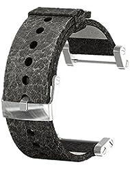 Suunto Zubehör CORE LEATHER MATT STRAP, schwarz, One size, SS014444000