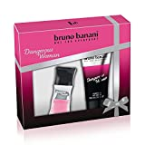 bruno banani Dangerous Woman Duftset Eau de Toilette + Shower Gel, 70 ml
