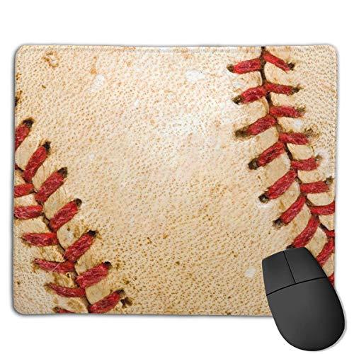 Retro Baseball Customized Rectangle Non-Slip Rubber Mousepad Gaming Laptop Mouse Pad Mousepad Anti-Slip Mouse Pad Mat Mice Mousepad Desktop Mouse Pad 18 cm X 22cm -