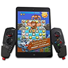 IPEGA PG - 9055 Araña roja Mando Gamepad Controlador de Juegos Inalámbrico Bluetooth 3.0 Telescópica Juego Palanca de Mando para Android 3.2 Anterior (para Android Smartphone / Tablet) iOS 7 o Superior (para iPhone / iPad) o Smart TV / TV Box con Función Bluetooth(Negro)