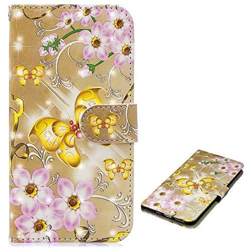 Bookstyle Bling für Samsung S10,Glitter Glitzer Diamond Musterg Slim Klassisch Modisch Leder Stand Funktion Kartenfach Magnetverschluss Flip Wallet