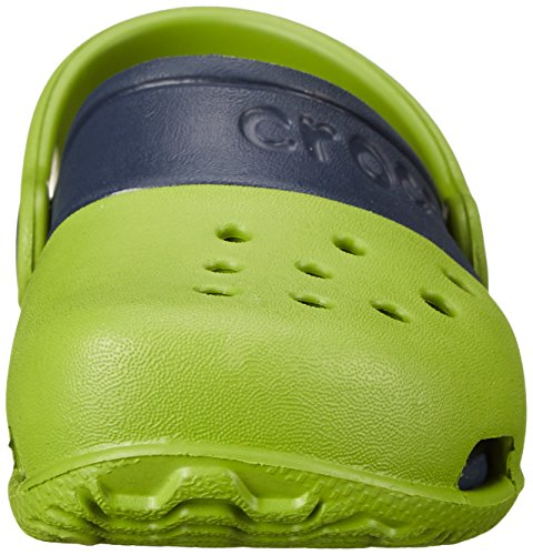 Crocs Electro II Clog K -  Zoccoli e sabot, unisex per bambino Parrot Grün/Marine