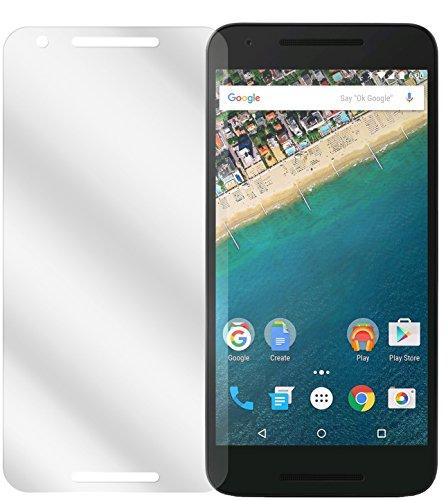 dipos I 2X Schutzfolie klar passend für LG Google Nexus 5X Folie Bildschirmschutzfolie