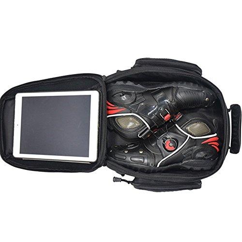 4e828da91a ... Bolsos Magnético Depósito Hombre para Motocicletas Impermeable Alforjas  Asiento de Moto Caja de Deporte al Aire ...