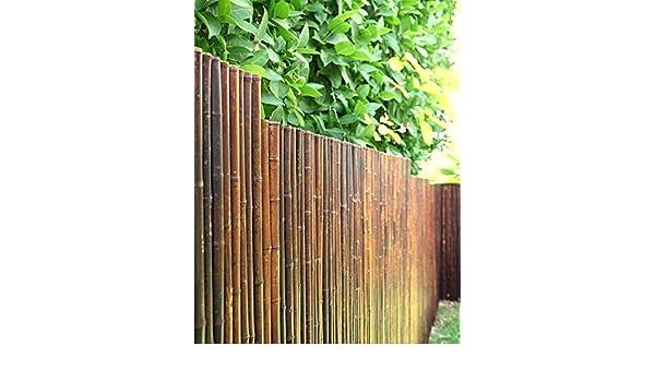 coperture r VERDELOOK Arella River in cannette di bamboo pieno dimensioni 2x3 m