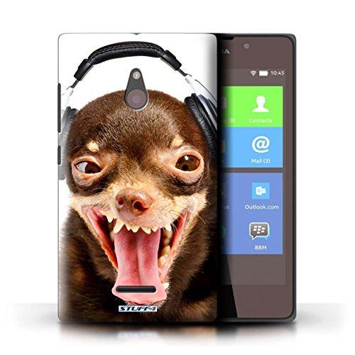Kobalt® Imprimé Etui / Coque pour Nokia XL / Chien somnolent conception / Série Animaux comiques Chien ridicule