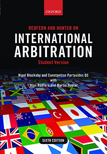 Redfern and hunter on international arbitration ebook nigel redfern and hunter on international arbitration by blackaby nigel partasides qc constantine fandeluxe Images