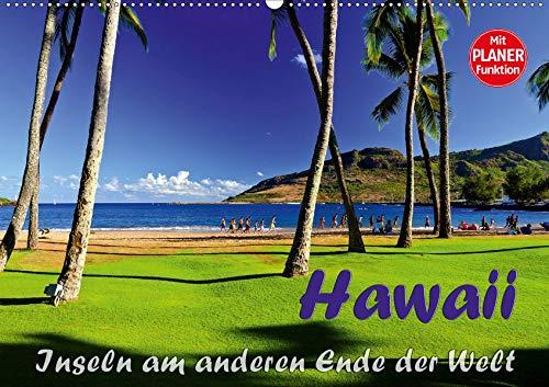 Hawaii - Inseln am anderen Ende der WeltCH-Version (Wandkalender 2020 DIN A2 quer): Meine Impressionen von einer Kreuzfahrt nach Hawaii. (Geburtstagskalender, 14 Seiten ) (CALVENDO Orte) (Maui Hat)
