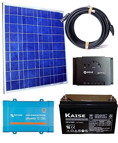 El Kit solar fotovoltaico 250VA es perfecto para un uso diario y de fin de semana de iluminación y electrodomésticos con energía solar(max 250VA). Kits solares de aislada aptos para casas de fin de semana. Ahora tendrás la oportunidad de iluminar tu ...