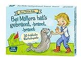 Bei Müllers hat's gebrannt, -brannt, -brannt: 30 fröhliche Klatschspiele (Spielen - Lernen Freude haben. 30 tolle Ideen für Kindergruppenauf DIN A5-Karten)