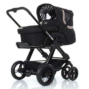 abc design turbo 6s safari kombi kinderwagen inkl. Black Bedroom Furniture Sets. Home Design Ideas