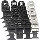 BABAN 24pcs Sägeblätter Multi-Tool Klingen Multitools Werkzeug für Fein Multimaster Makita Bosch